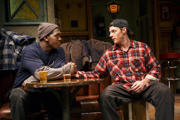 Khris Davis and Will Pullen as friends who wind up in prison.