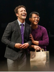 Justin Guarini and Telly Leung