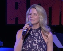 Kelli O'Hara sang: I have heard people rant and rave and bellow That we're done and we might as well be dead, But I'm only a cockeyed optimist And I can't get it into my head. I hear the human race Is fallin' on its face And hasn't very far to go, But ev'ry whippoorwill Is sellin' me a bill, And tellin' me it just ain't so. I could say life is just a bowl of Jello And appear more intelligent and smart, But I'm stuck like a dope With a thing called hope, And I can't get it out of my heart!