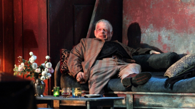 Wallace Shawn, from the National Theater production.