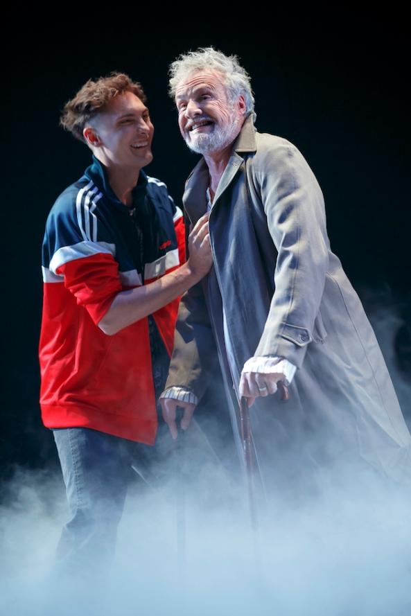 Eamon Farren (Kirrill) and Martin Jacobs (Alexei, Kirrill's father.)