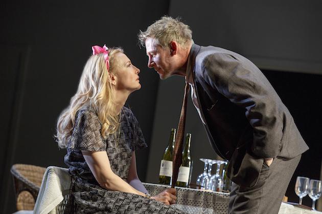 Cate Blanchett and Richard Roxburgh