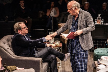 Matthew Broderick and Wallace Shawn in Shawn's Evening at the Talk House