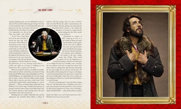Great Comet book Spread 1