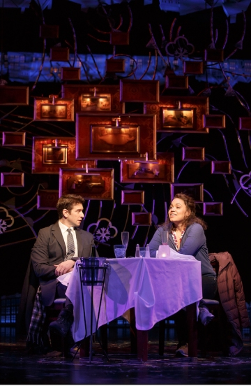 Andy Karl and Barrett Doss