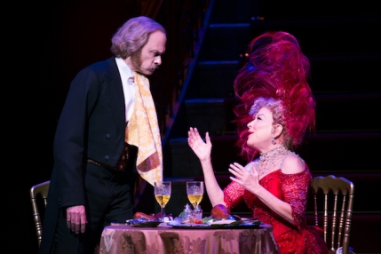 David Hyde Pierce and Bette Midler