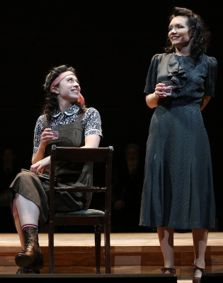 (l-r): Adina Verson and Katrina Lenk in INDECENT,