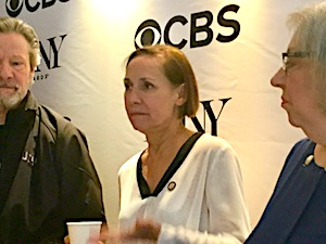A Doll's House, Part 2. All four cast members have been nominated. Pictured here Chris Cooper, Laurie Metcalf and Jayne Houdyshell. Laurie Metcalf: I was thrilled at the audacity of the title of the play... There's a balance of all four characters. They're all right, and they're all wrong.