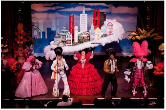 Beach Blanket Babylon in San Francisco