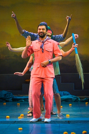 from Monsoon Wedding at Berkeley Rep