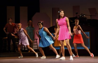 Nikki M. James (front) and (L to R back) Lauren E.J. Hamilton, Kenita R. Miller, Penelope Armstead-Williams (behind James) and Tanya Birl Encores! Off-Center The Bubbly Black Girl Sheds Her Chameleon Skin Cast & Credits Cast & Credits By Kirsten Childs Choreography by Byron Easley Music Supervisor Chris Fenwick Music Director Annastasia Victory Directed by Robert O'Hara Starring Penelope Armstead-Williams, Tanya Birl, Kaitlyn Davidson, Josh Davis, Yurel Echezarreta, Lauren E.J. Hamilton, Korey Jackson, Nikki M. James, Kingsley Leggs, Jo'Nathan Michael, Kenita R. Miller, Julius Thomas III, Shelley Thomas, and Alex Wong