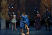 Temple of Souls Andres Quintero as Guario and Noellia Hernandez as Amada_Photo by John Quilty