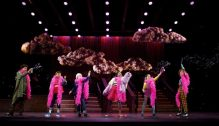 (L to R) Kenneth Cabral (Alligator), Eduardo Hernandez (Pierre), Zell Steele Morrow (Chicken Soup), Taylor Caldwell (Rosie), Ruth Righi (Kathy), and Anthony Rosenthal (Johnny)