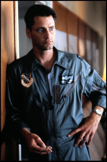 """As laconic pilot Chuck Yeager in """"The Right Stuff,"""" 1983, for which he was nominated for an Academy Award"""