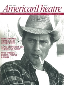 the first cover of American Theatre Magazine, 1984